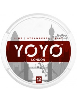 Wholesale YOYO London Tobacco Free Nicotine Chew Bags - Straw/Mint (12mg)