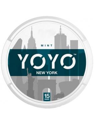 Wholesale YOYO New York Tobacco Free Nicotine Chew Bags - Mint (15mg)