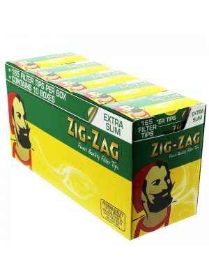 Zig Zag Finest Quality Extra Slim Filters 1650 Tips