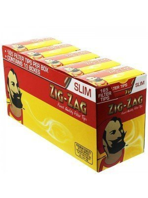 Zig Zag Finest Quality Slim Filters 1650 Tips