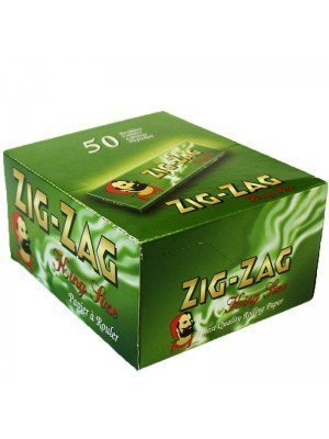 Zig Zag Green King Size Rolling Papers- 50 booklets