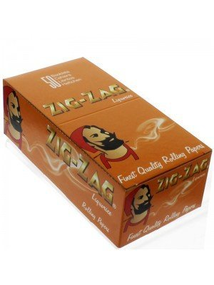 Wholesale Zig Zag Liquorice Rolling Papers- 50 booklets