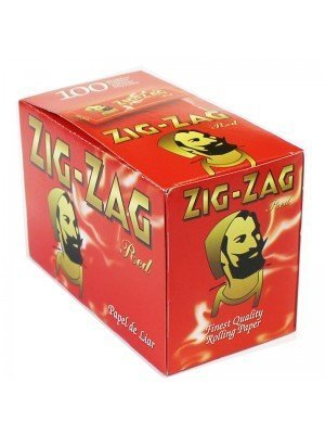 Wholesale Zig Zag Red Regular Rolling Paper - 100 booklets