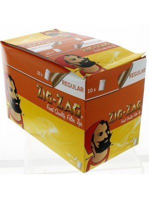 Zig Zag Resealable Regular Filters 1000pcs