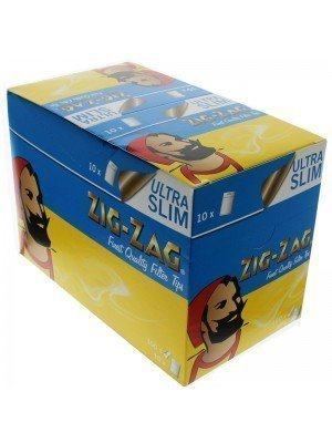 Zig Zag Resealable Ultra Slim Filters 1500 Tips