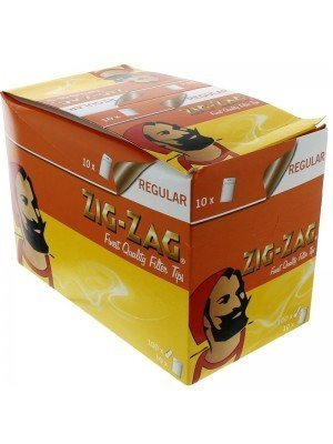 Wholesale Zig Zag Resealable Regular Filters 1000 tips