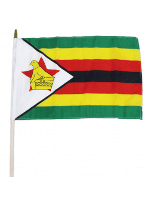 "Wholesale Zimbabwe Hand Flag - 12"" x 18"""