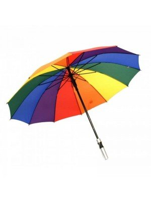 Long Rainbow Umbrella - 82 cm