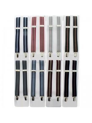 Children's Braces Dark Stripes Assortment (25mm)