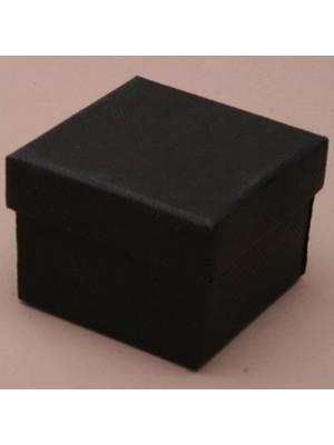 Square Gift Box Black(5x 5 x 3.5cm)
