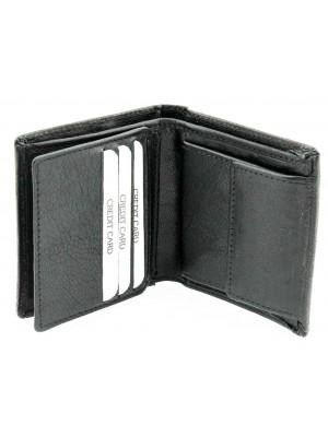 Men's Woodbridge Leather Wallet - Black