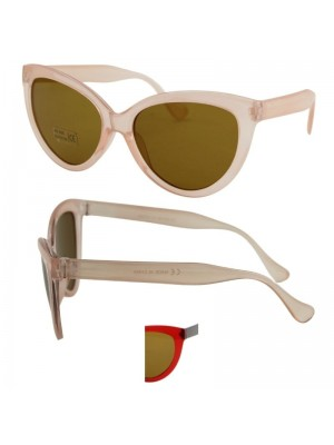 Ladies Oval Style Sunglasses - Assorted Colours