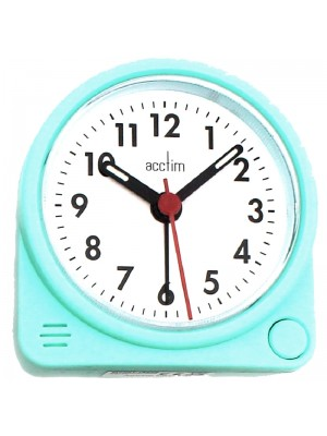 Acctim Playa Alarm with Snooze Clock - Turquoise