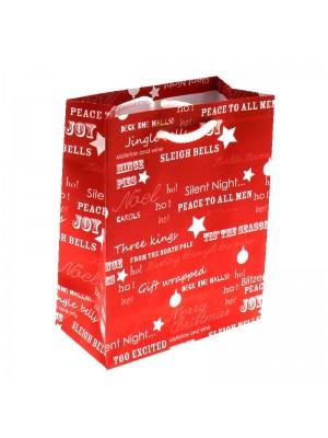 Christmas Themed Gift Bag - Small (12x15x6cm)