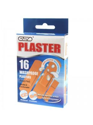 GSD Washproof Plasters - (16 x 24 packs)