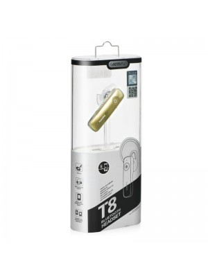 Remax Bluetooth Headset T8 - Gold
