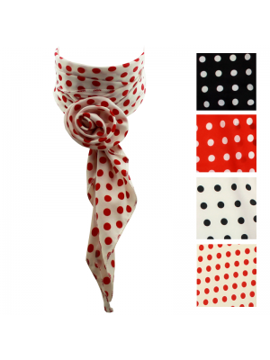 Multi-Functional Scarves - Assorted Polka Dots colours