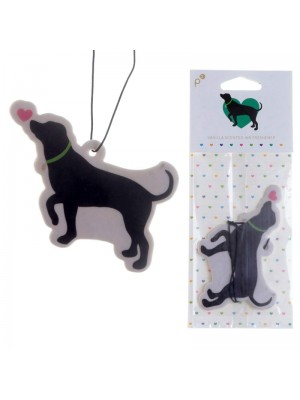Vanilla Air Fresheners - I love my dog Design