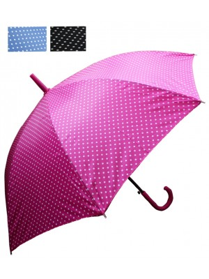 Adults Polka Dot Umbrellas - Assorted Colours