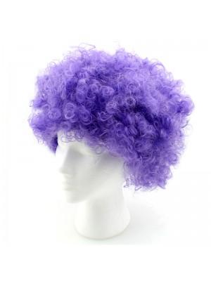 Afro Wigs - Purple