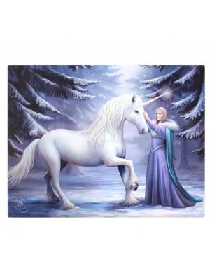 Anne Stokes Unicorn Pure Magic Picture Canvas