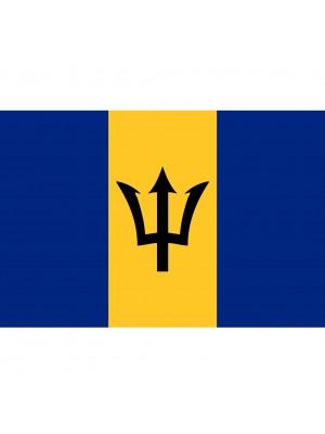 Barbados Flag - 5ft x 3ft
