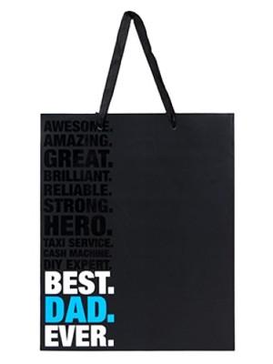 Best Dad Ever Gift Bag - Large