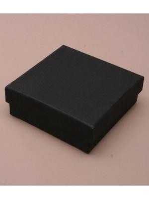 Square Gift Box Black (9cm x 9cm x 3cm)