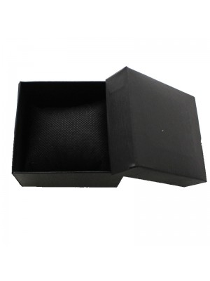 Watch Box with Cushion - Black