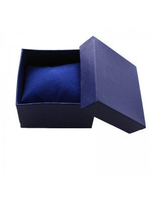 Watch Box with Cushion - Blue