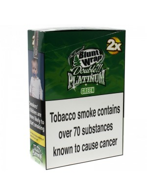 Blunt Wrap Double Platinum 2x - Green (Apple Martini)