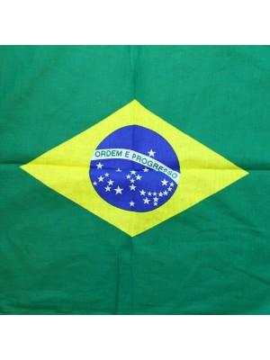 Brazil Flag Print Bandanas