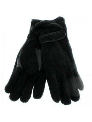 Mens Thinsulate Insulation Gloves - Black