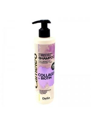 Delia Cameleo Strengthening & Rebulding Shampoo- Collagen & Biotin
