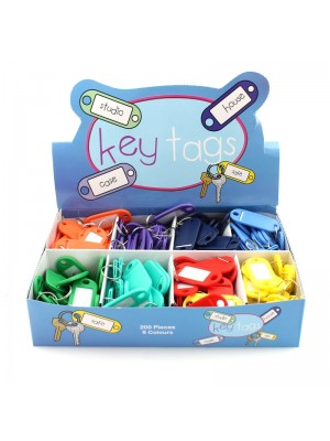 Colour Key Tags - Assorted Colours