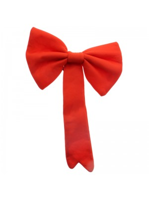 Crazy Cat Bow Tie - Red