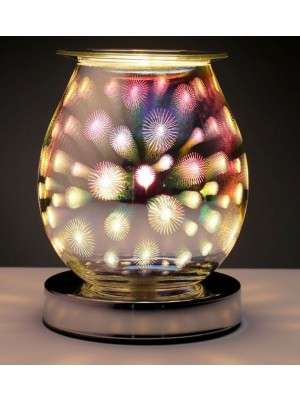 Eden Firework Pattern Electric Wax Warmer - 15cm