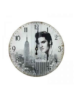 Elvis Wall Clock - 30cm