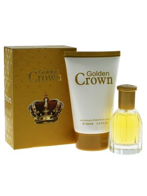 Ladies Fine Perfumery Perfume Gift Set - Golden Crown