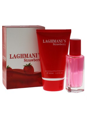 Ladies Fine Perfumery Perfume Gift Set - Laghmani's Strawberry