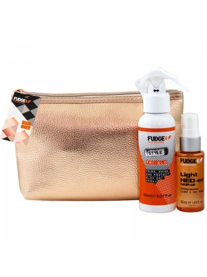 Fudge Blo Out Hair Style Blow Dry Spray & Oil Gift Set