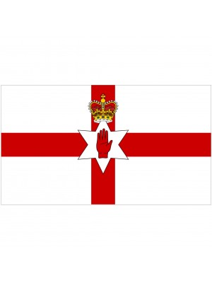 Red Hand of Ulster Flag - 5ft x 3ft