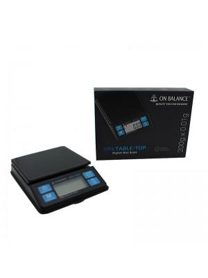 On Balance Mini Table-Top Digital Pocket Scale (200 x 0.01g)