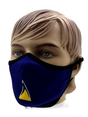 Adults St Lucia Print Reusable Face Covering Mask