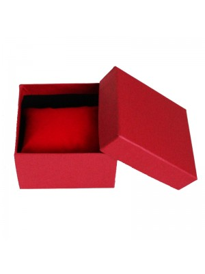Watch Box with Cushion - Red