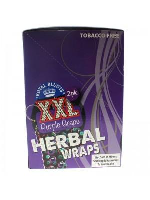 Royal Blunts XXL Purple Grape - Herbal Wraps