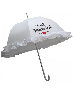 Just Married Luxury Wedding Umbrella