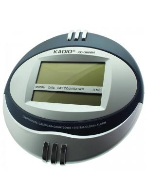 Kadio Wall & Table Temperature Display Clock - 27cm