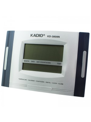Kadio Wall & Table Temperature Display Clock - 29cm