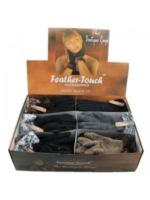 Ladies Soft Touch Magic Gloves - Assorted Colours (Full Box)